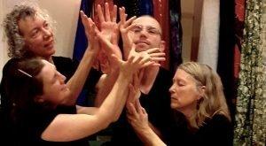 hands in chorus
